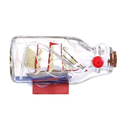 Ketuan Creative Light Bulk Upgrade Caja de vela iluminada con alambre de cobre luz base de madera a la deriva decoración del hogar (rosa)