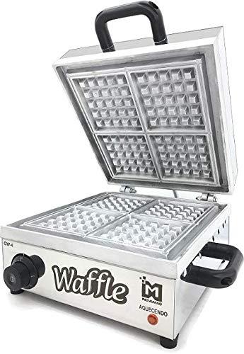 Máquina de Waffles Profissional - GW-4-220v - Inovamaq