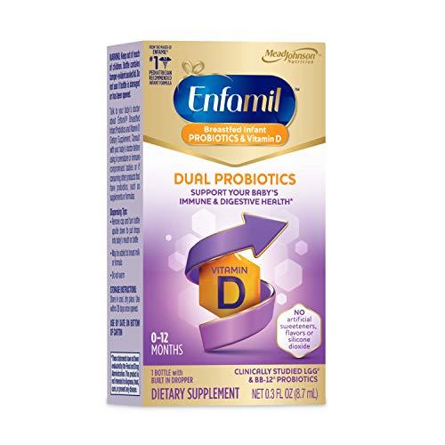 Enfamil Breastfed Infant Probiotics & Vitamin D Dual Probiotics, 8.7mL