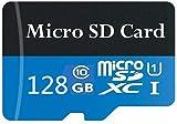 Tarjeta Micro SD de 128 GB/256 GB/400 GB/512 GB/1024 GB de memoria de alta velocidad Clase 10 Micro SD SDXC con adaptador (128 GB)