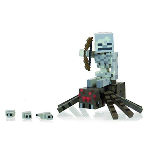 Minecraft 16451 - Spinnenreiter Pack, bewegliche Spielfiguren Set
