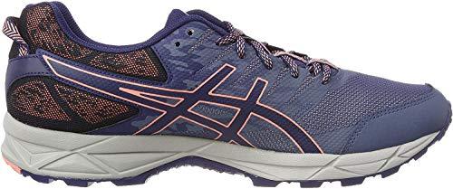 Asics Gel-Sonoma 3, Zapatillas de Running para Asfalto para Mujer, Multicolor (Smoke Blue/Indigo Blue/Begonia Pink 5649), 37 EU
