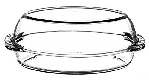 Pasabahce Classic Cocotte en verre avec couvercle 2,5 l