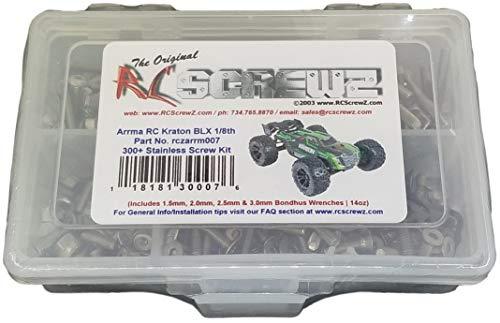 RCScrewZ Stainless Steel Screw Kit arrm007 Compatible with Arrma RC Kraton 6s BLX V1 (#AR106005)