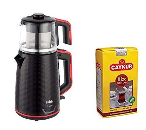from UK Electric Turkish Tea Maker Tea Pot Caydanlik Kettle Teapot Gift Turkish Tea 500G