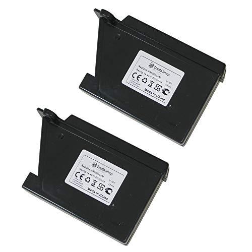 2x Trade-Shop Premium Li-Ion Akku 14,4V / 3000mAh / 43Wh für LG Hom-Bot VR62601LV VR62601LVM VR6260LV VR6260LVM VR62701LV VR62701LVB VR62701LVM VR62701LVMB VR6270LVB VR6270LVM VR6270LVMB VR6340LV