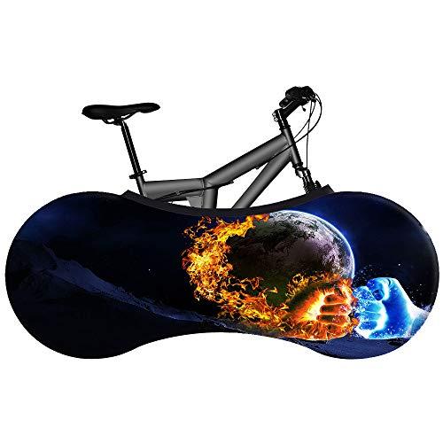 Bicicleta Cubierta - Serie Llama - Elástico Tela Suciedad Proof - Bicicleta Bolsa De Almacenamiento De Lucha contra La Cubierta Protectora para La Montaña Bicyle,E