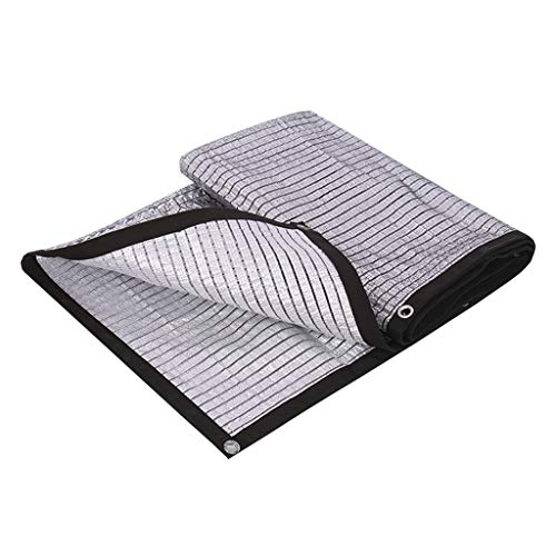 Ding Balcony Roof Garden Sun Shade Aluminum Foil Shade Cloth, 85% Shading Rate (Size : 2mx2m)