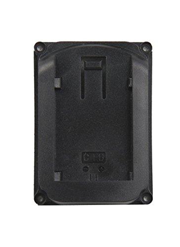 Feelworld LP-E6 Batterie Platte für Kamera Monitor F450 F550 F570 FW759 FW760 FH7 T7 FW703 Kompatibel für Canon LP-E6 Batterie