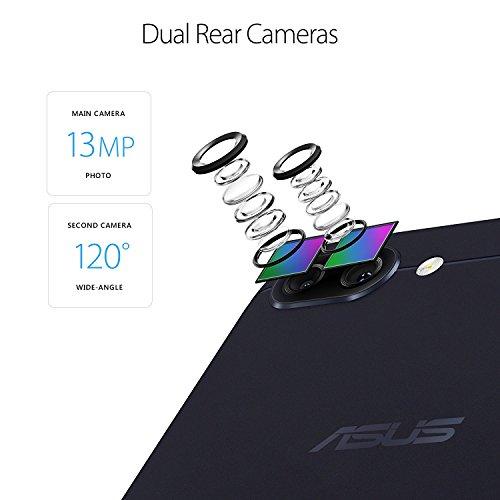 ASUS ZenFone 4 Max 5.5-inch HD 3GB RAM, 32GB storage LTE Unlocked Dual SIM Cell Phone, US (Certified Refurbished)