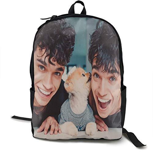Mochila Mochila de Viaje Dobre Brothers Backpack Campus School Bag Casual Backpack Gym Travel Hiking Canvas Backpack
