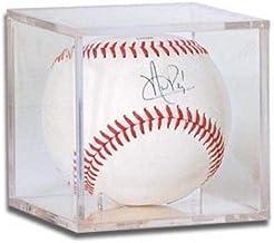 Keepsakes Under Glass Baseball Engraved Acrylic Display Case - Cube