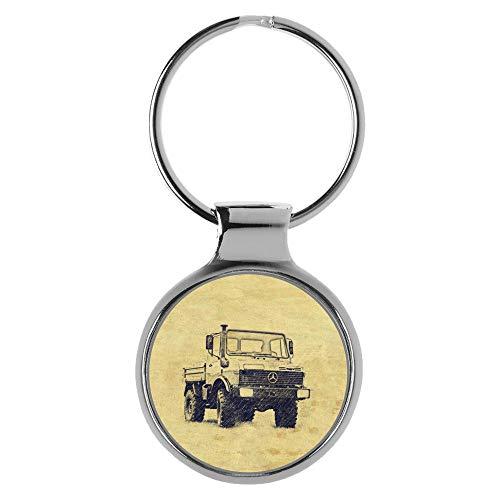 KIESENBERG Schlüsselanhänger Geschenke für Unimog U 1000 Fan A-20609