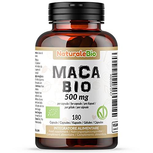 Maca Bio en Gélules de 500mg - 180 Capsules....