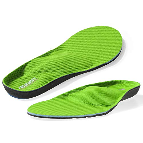 Arch Support Shoe Insoles for Plantar Fasciitis Men Women Work Boots,Foot Orthotic Inserts for Flat Feet High Arch Heel Pain Spurs