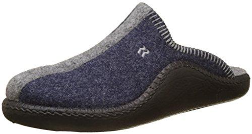 Romika Unisex-Erwachsene Mokasso 62 Pantoffeln, Blau (Jeans-Kombi 541), 42 EU