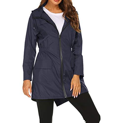Primavera y verano señoras casual suelto con capucha chaqueta de mujer casual cómoda chaqueta