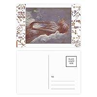 ダンスxjj油絵 公式ポストカードセットサンクスカード郵送側20個