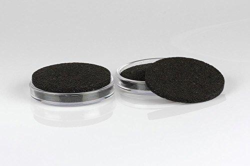 4er Set Jahn Klavieruntersetzer/ISO-Floor Kunststoff (4 klare Kunststoffuntersetzer, 4 ISO-Floor Einlagen, schützt den Fußboden vor Kratzern und Dellen, absorbiert Schallübertragung in den Boden)