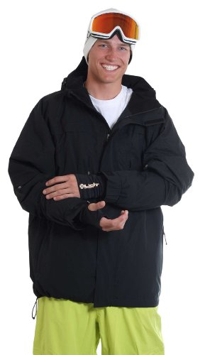 Light Snowboardjacke Nine, Black, L, FA529-10,