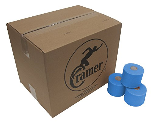 Cramer Tape Underwrap, Bulk Case of 48 Rolls of PreWrap for Athletic Taping, Hair Tie, Headband, Patellar Support, Pre-Wrap Athletic Tape Supplies, 2.75 X 30 Yard Rolls of Pre Wrap