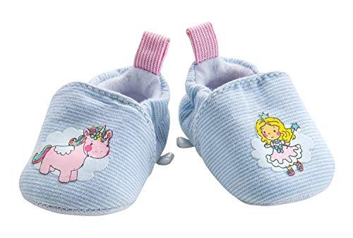 Heless 944 - Schuhe für Puppen, Einhorn Emil und Fee Emma, Größe 38 - 45 cm