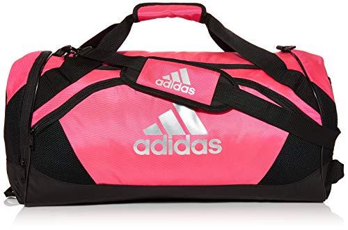 adidas Unisex Team Issue II Medium Duffel Bag, Team Shock Pink, ONE SIZE