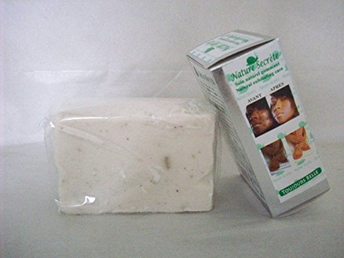 NATURE SECRETE Whitening and Exfoliating Gommant Face and Body Soap 350grs