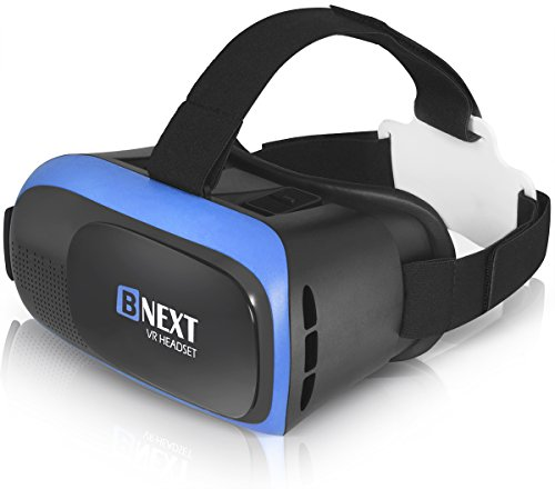 VR Headset Compatible with iPhone & Android Phone - No Remote - Universal...