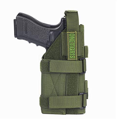 OneTigris Minimalist MOLLE Pistol Holster(OD Green)