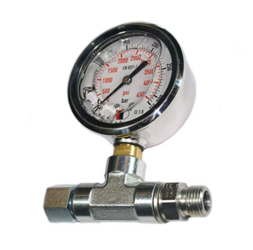 Metalsub Glycerin-Manometer für Tauchkompressor, NARDI