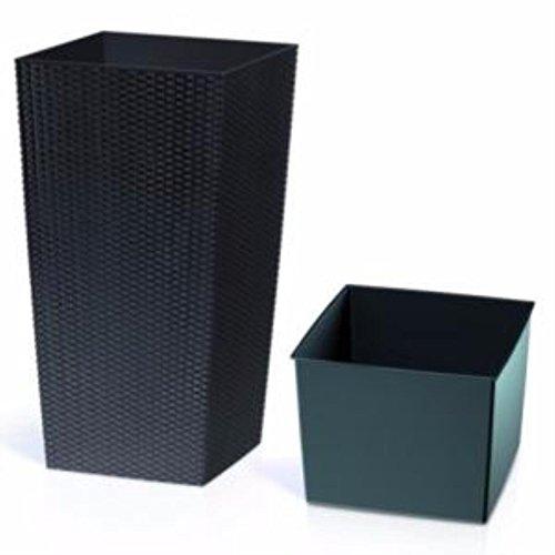 Prosper Plast drts400s-s43340x 40x 75cm Rato Square antracite–Set (pezzi)