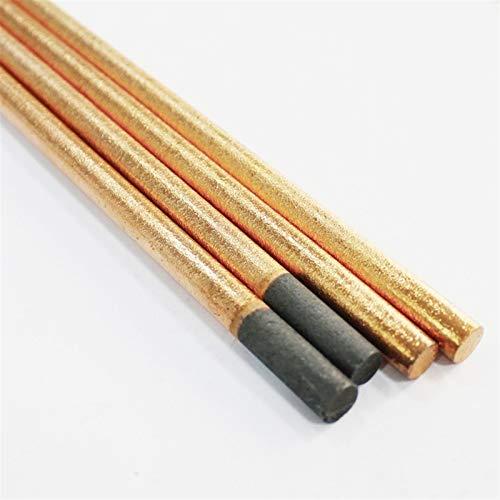 Pilang zxxin-Varillas de Soldadura duraderas, Cobre Vestido de Grafito de Barras de Carbono electrodos, Longitud 355 mm, 4 mm / 5 mm / 6mm / 7mm / 8mm / 10mm / 12mm, (Diameter : 6x355mm 5pcs)