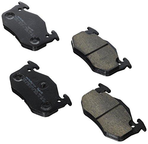 metelligroup 22-0038-0 Bremsbeläge, Made in Italy, Ersatzteile für Autos, ECE R90-zertifiziert, Kupferfrei