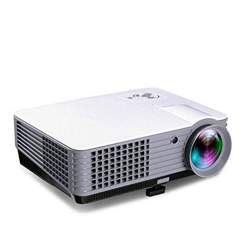 Proiettore LCD Proiettori video proiettore 1800 Lumens Supporto 1080P Portatile PC portatile Full HD Portatile Proiettore portatile Parti portatili Gaming Clubs
