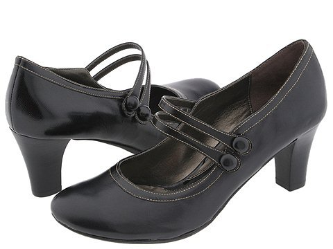 Art Deco Shoes Styles of the 1920s and 1930s Dr. Scholls Riley $110.00 AT vintagedancer.com