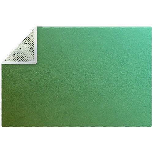 LORVIES Olijfgroene ruimte tapijt antislip vloermat deurmatten voor woonkamer slaapkamer 71x47 inch