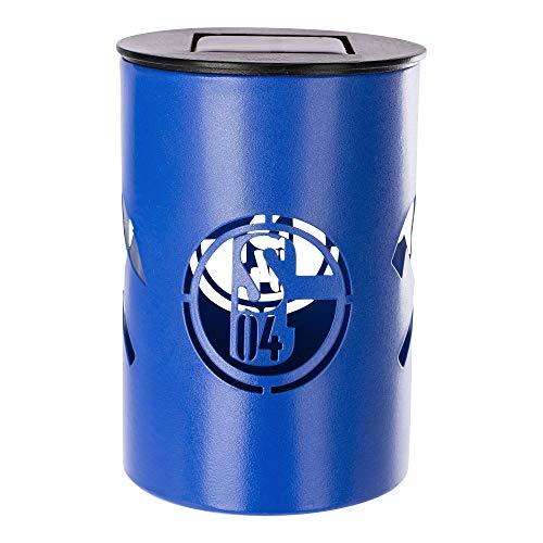 FC Schalke 04 Fanartikel Solar Tischlampe Lampe S04 Emblem