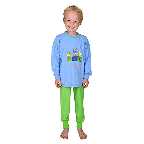 Wörner zuid-badstof jongens baby kleinkind winnaar ciel maat 74-116 pyjama 2-delig Shorty slabbetjes capuchon badhanddoek washandje badponcho badjas