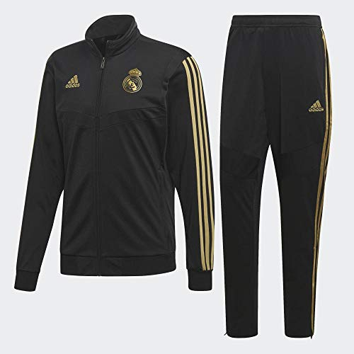 adidas Real PES Suit Chándal, Hombre, Negro Orfúos, M