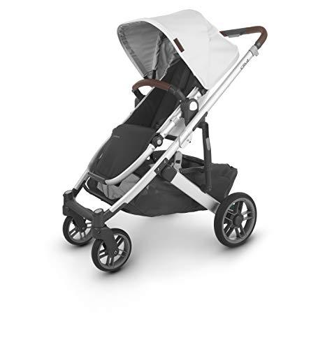 Fantastic Deal! UPPAbaby Cruz V2 Stroller - Bryce (White Marl/Silver/Chestnut Leather)