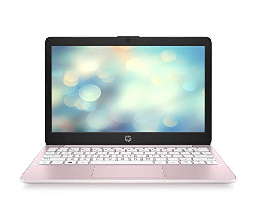 HP Stream 11-ak0293ng (11, 6 Zoll /HD) Laptop (Intel Celeron N4020, 64 GB eMMC, 4 GB DDR4 RAM, Intel UHD Grafik, Windows 10 Home inkl. Microsoft Office 365 Single) Pink