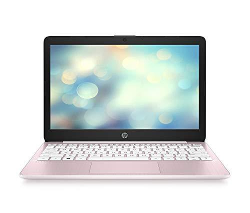 HP Stream 11-ak0293ng (11, 6 Zoll /HD) Laptop (Intel Celeron N4020, 64 GB eMMC, 4 GB DDR4 RAM, Intel UHD Grafik, Windows 10 Home inkl. Microsoft Office 365 Single) Pink