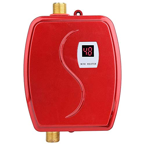 wosume Tankless Water Heater Intelligent Water Heater, 110V 3000W Household...