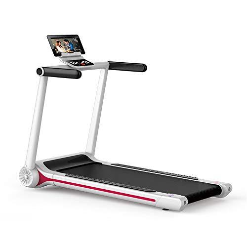 YBWEN Home Treadmill Opvouwbare Loopband Elektrische Gemotoriseerde Power Fitness Hardloopmachine Fitness Apparatuur Gratis Installatie voor Thuis Gym Hardloopmachine (Kleur, Maat : 124x72x12)