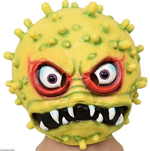 Milu deer Accesorios Propaganda Antiepidémica Máscara Virus Accesorios Carnaval Halloween Accesorios para La Cabeza para La Fiesta Halloween (Color : Yellow, Size : One Size)