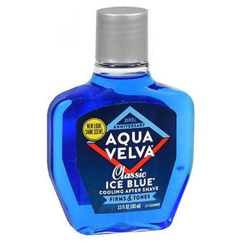 閉じる実質的に空中Aqua Velva Aqua Velva Classic Ice Blue Cooling After Shave, 3.5 oz (Pack of 3) by Aqua Velva