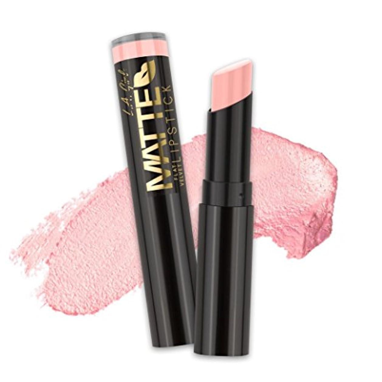 増強する収束販売員(6 Pack) L.A. GIRL Matte Flat Velvet Lipstick - Ooh La La! (並行輸入品)