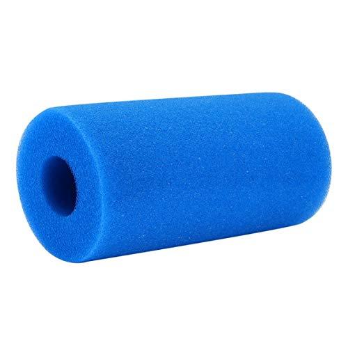 nbvmngjhjlkjlUK Éponge de filtre, colonne creuse légère d'éponge de filtre de capacité d'adsorption élevée pour la Piscine