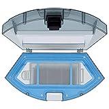 TeKeHom Depósito de polvo para IKOHS NETBOT S14 / S15 Robot Aspirador Caja de Polvo